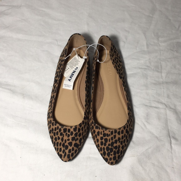 Old Navy Shoes | Leopard Print Old Navy
